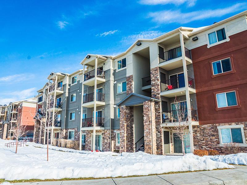 Building Exterior | Wasatch Commons Apartments in Heber, UT