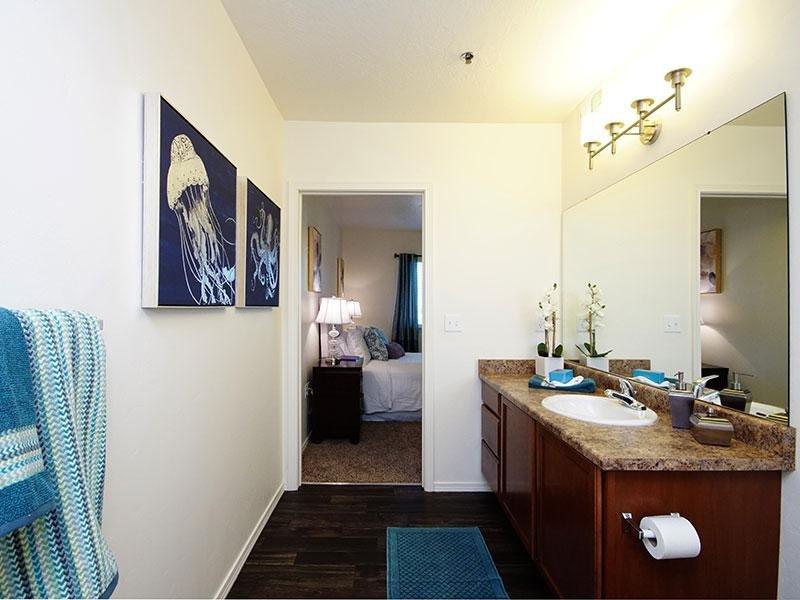 1-2 Bedroom Apartments - Bathroom