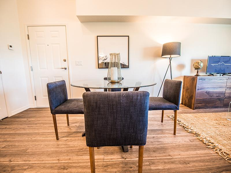 Dining Area | Wasatch Commons Apartments Near Park City