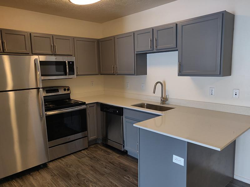 Kitchen | Wasatch Commons Heber Apartments