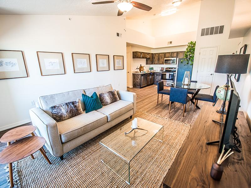 Living Room | Wasatch Commons Heber Apartments