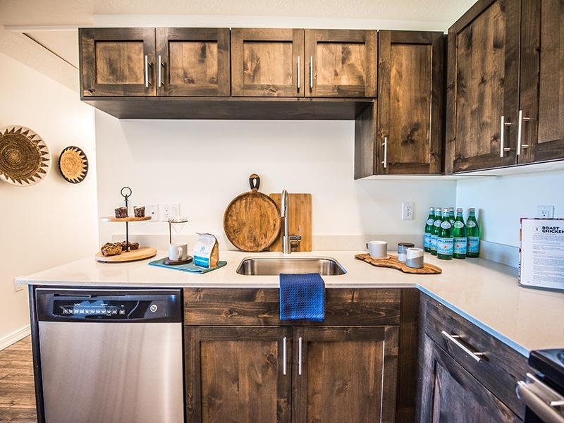 Stainless Steel Appliances | Wasatch Commons