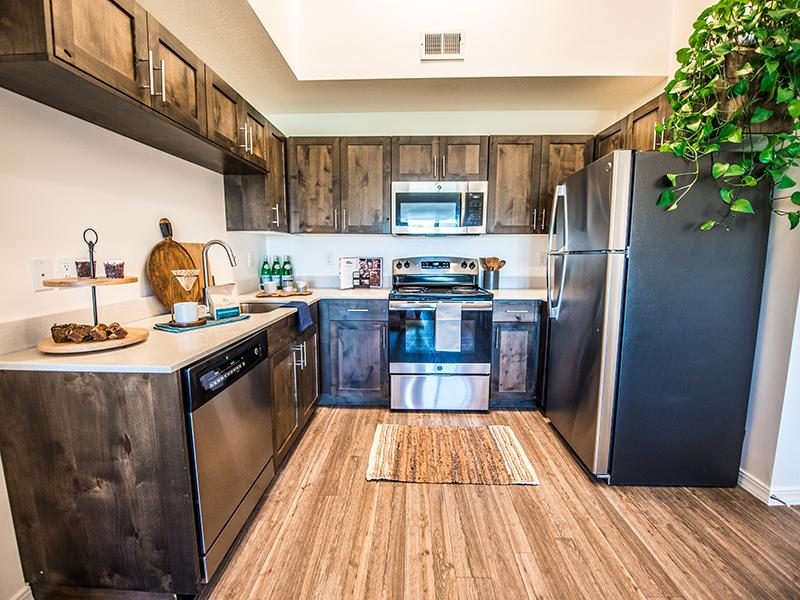 Fully Equipped Kitchen | Wasatch Commons Apartments Near Park City