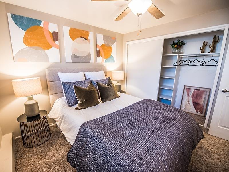Bedroom | Marmalade Hill in SLC, UT