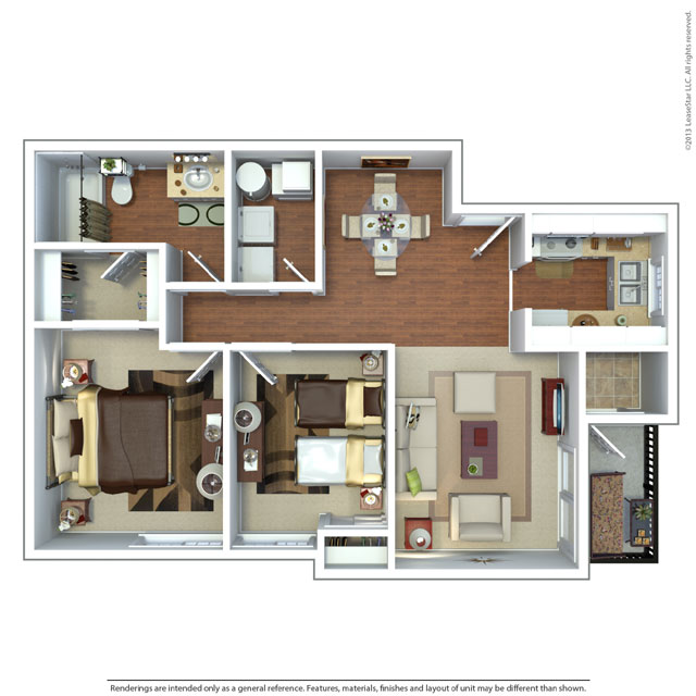 2 bedroom unit floor plan floor plans at creekview 850 sq ft