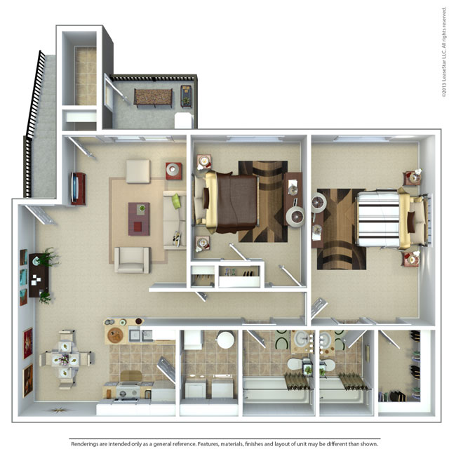 Two Bedroom Large Apartments in Midvale, UT