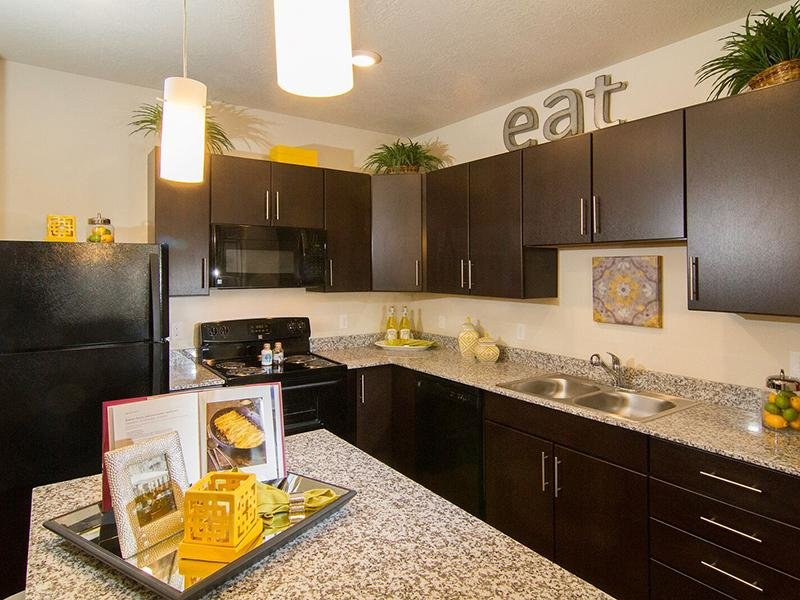 Fully Equipped Kitchen | Dry Creek at East Village
