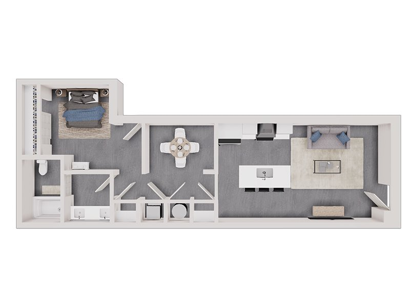 Floor Plans at The Charli Apartments