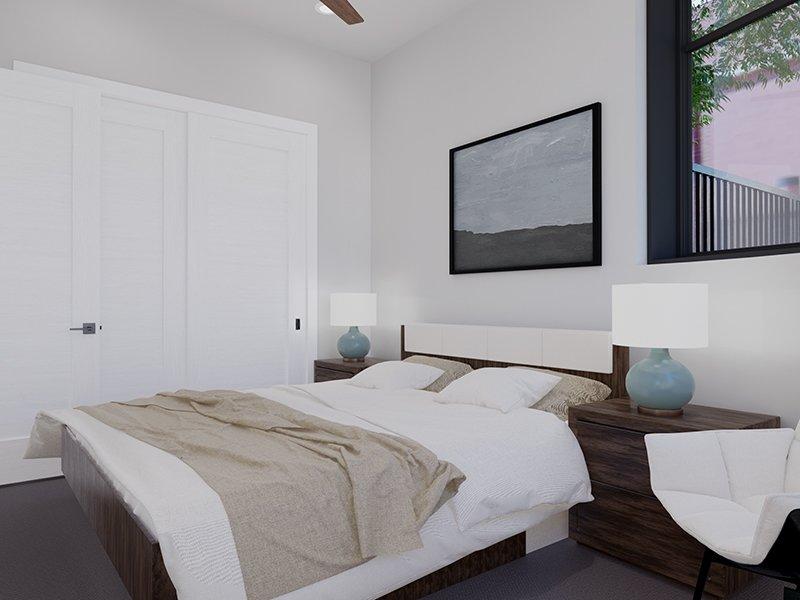 Bedroom   Unit 100   The Charli