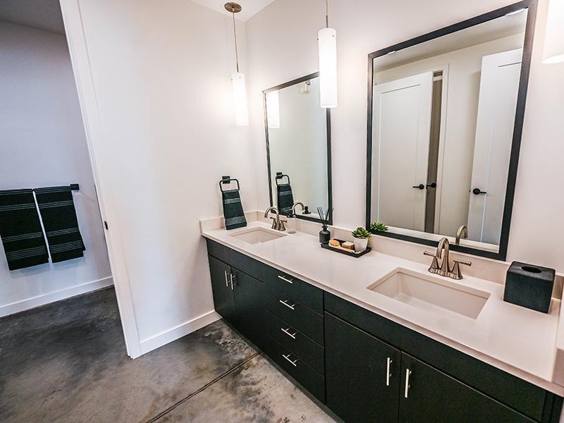 Bathroom   TheCHARLI Apartments in Salt Lake City, UT