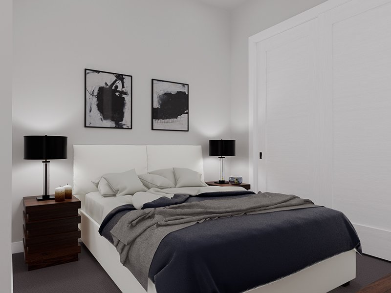Bedroom   Unit 101   The Charli