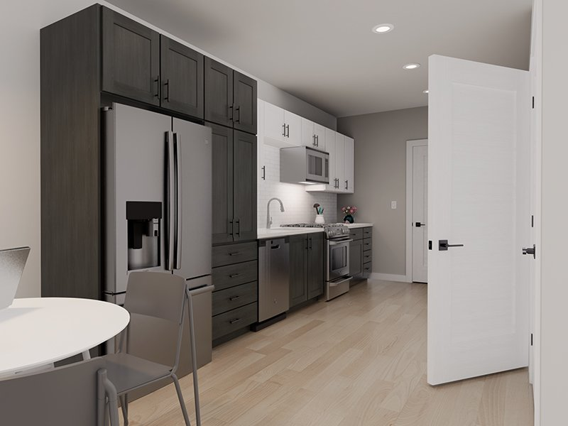 Fully Equipped Kitchen   Unit 211   The Charli