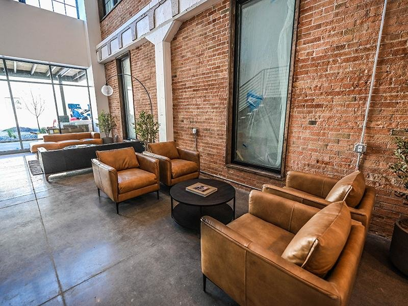 Lobby Seating   TheCHARLI Apartments in Salt Lake City, UT