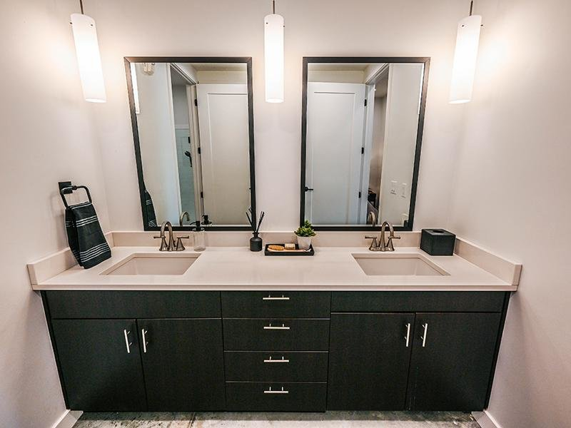 Bathroom Vanity   TheCHARLI Apartments in Salt Lake City, UT