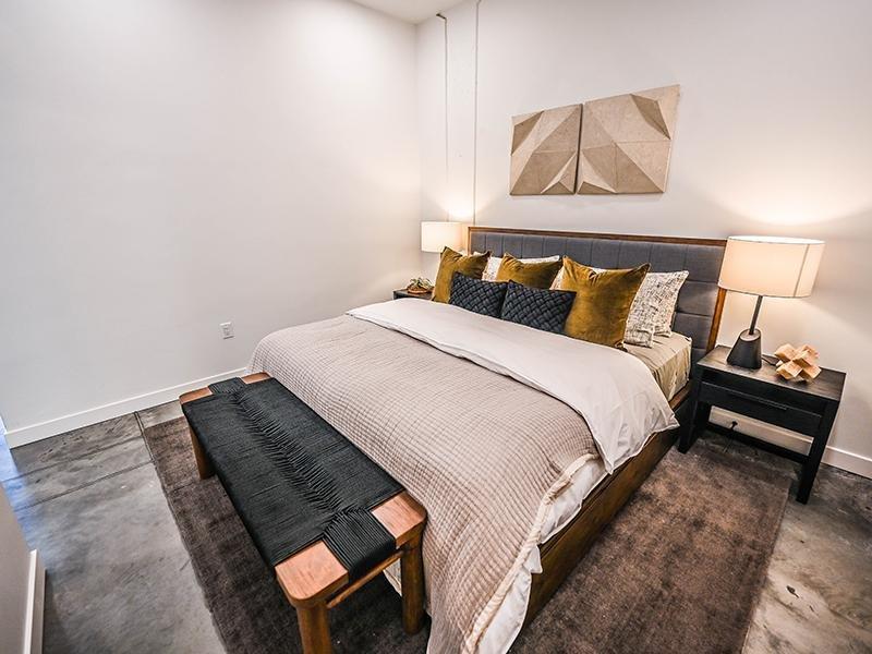 Bedroom   TheCHARLI Apartments in Salt Lake City, UT