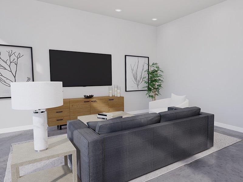 Living Room   Unit 100   The Charli