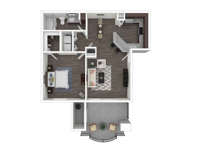 Floor Plans at The Met at 3rd and Fillmore Apartments