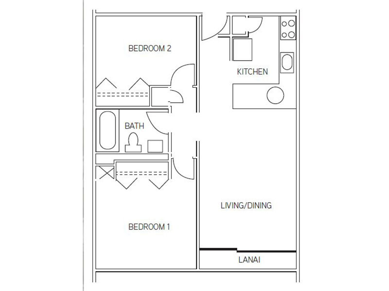 Floor Plans at Waikele Towers Apartments