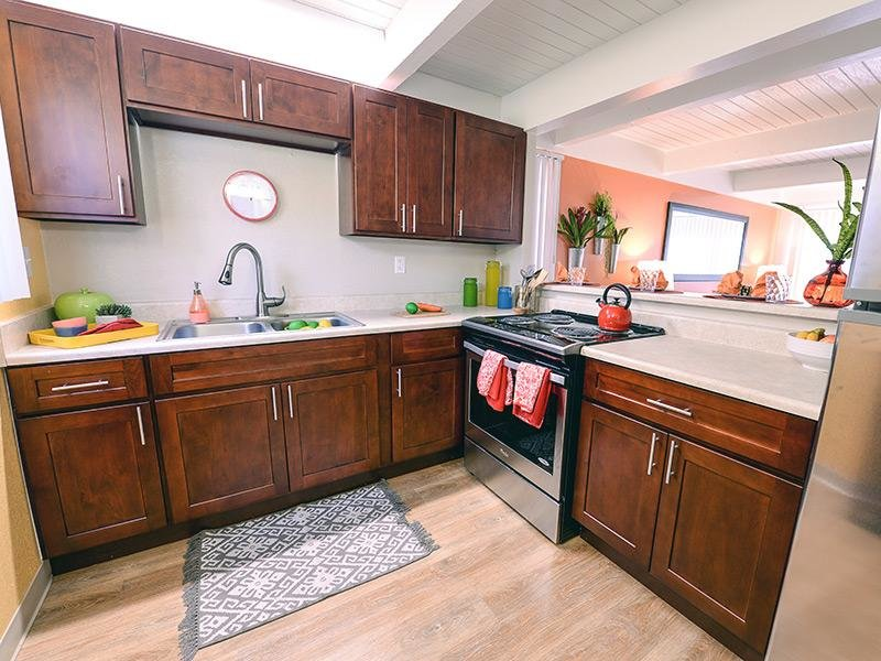 Wood Cabinetry - Kitchen