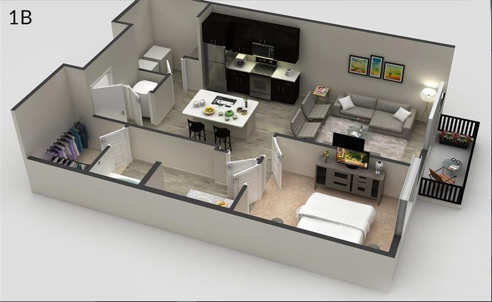 Floor Plans at Slate Scottsdale Apartments