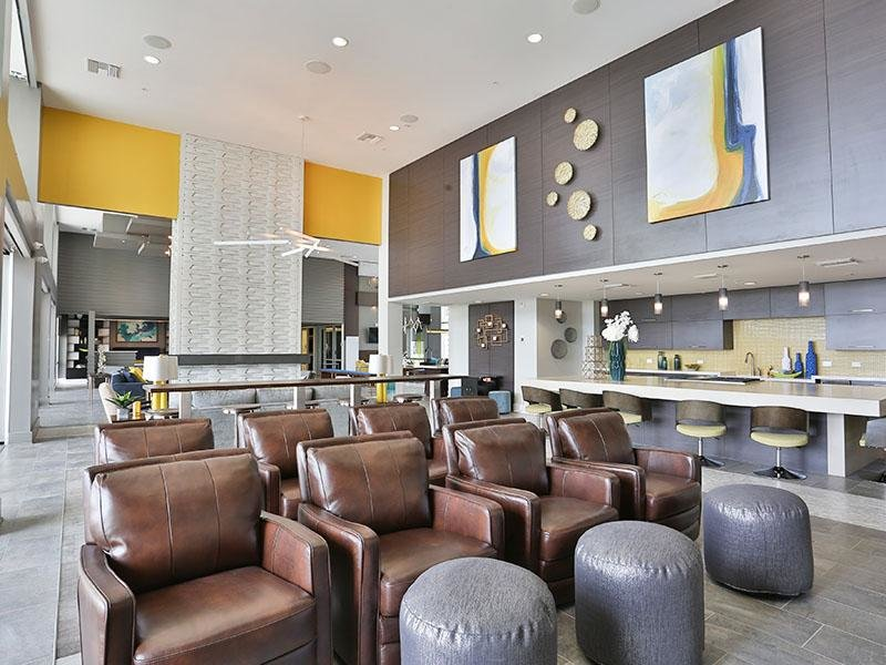 Theater Seats - Clubhouse - Slate Scottsdale