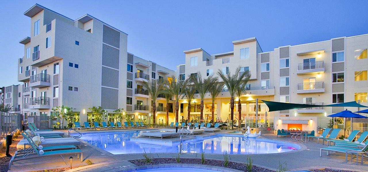 Slate Scottsdale Apartments Scottsdale Apartments