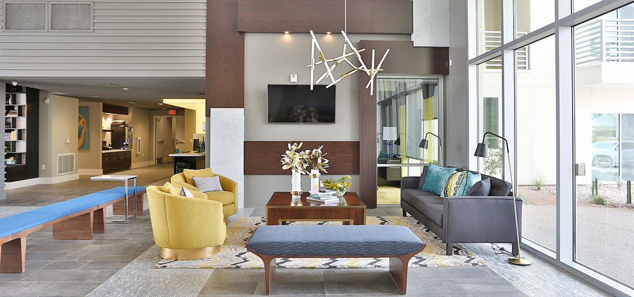 Expansive Views, Luxurious Common Areas, Spacious Floor Plans And High End  Amenities.