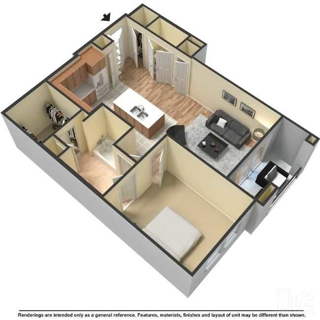 Floor Plans at The Hyve Apartments