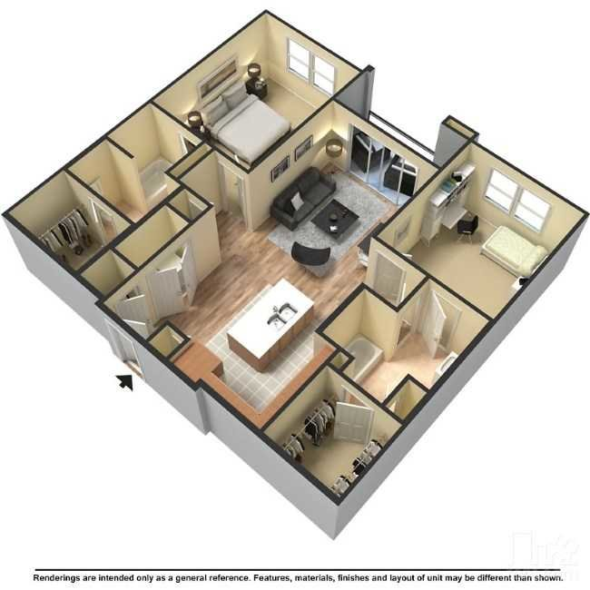 Floor Plans At The Hyve Apartments In Tempe, AZ