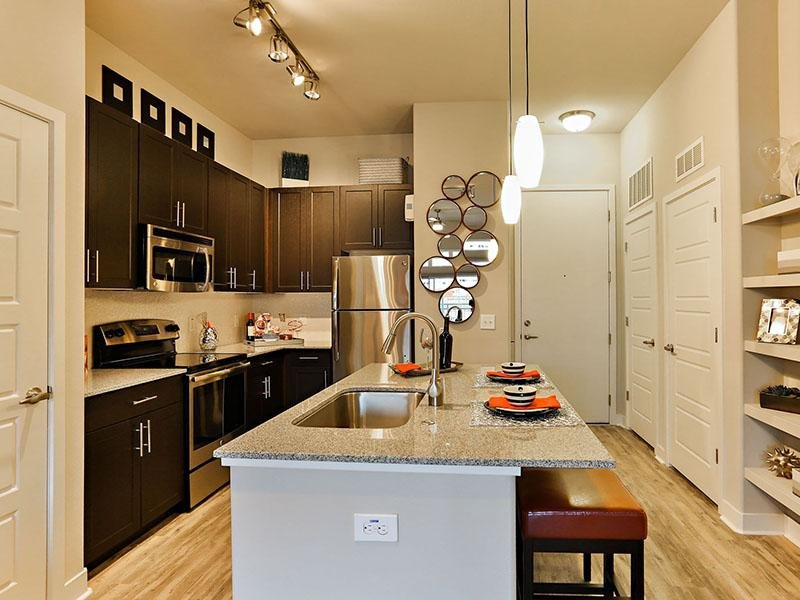 Kitchen - The Hyve Apartments in Tempe, Arizona