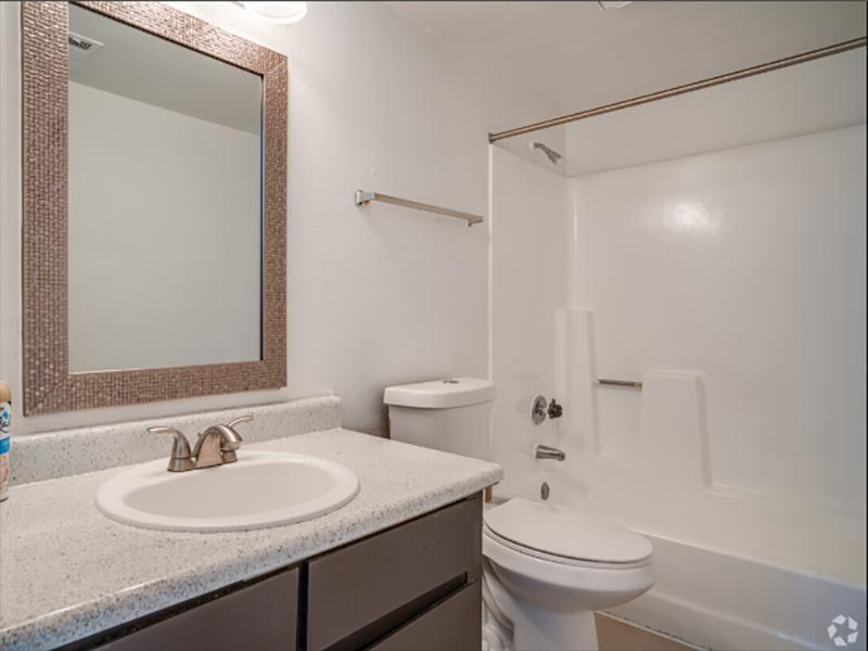 Bathroom   Portola at Grovers Park