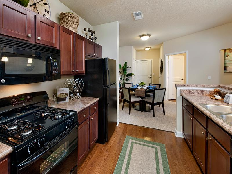 Fully Equipped Kitchen | The Park at Southwood Apartments