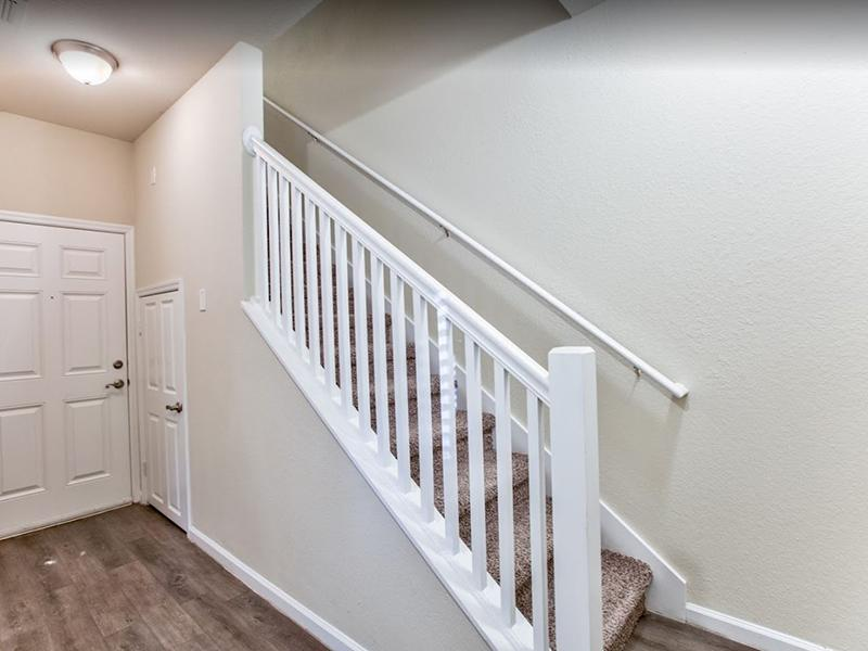 Living Room & Stairs | Hayden Commons Tallahassee