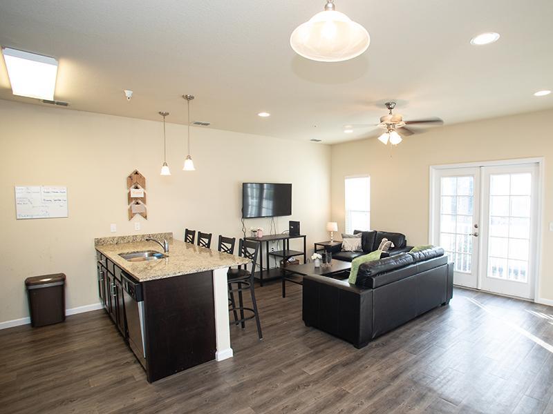 Hayden Commons Townhouse: Living Room