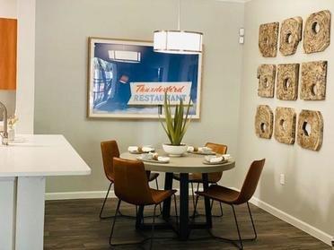 Dining Room | Serafina Apartments