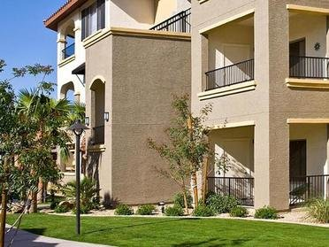 Outside of apartment Building  | Serafina Apartment Homes