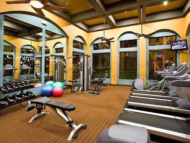 Fitness Center | Serafina Apartment Homes