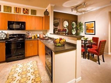 Kitchen | Serafina Apartment Homes