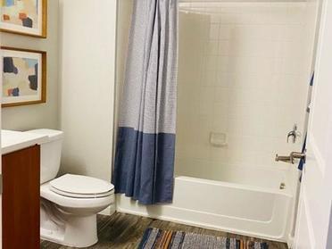 Apartment Bathroom | Serafina Apartments in Goodyear AZ