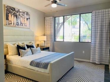 Apartment Bedroom | Serafina Apartments in Goodyear AZ