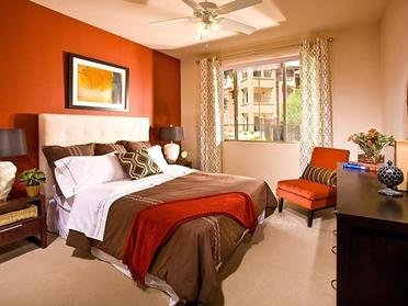 Bedroom | Serafina Apartment Homes