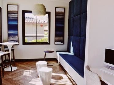 Community Clubhouse With Cafe | Serafina Apartments in Goodyear AZ