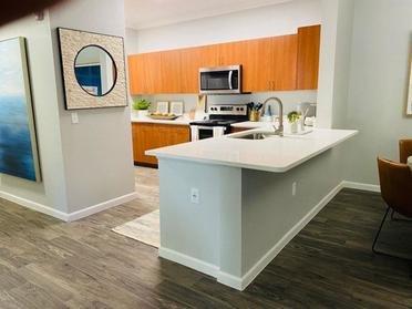 Kitchen | Serafina Apartments