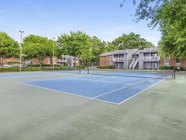 Tennis Courts  | The Mark