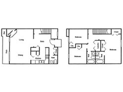 TH - 3 Bedroom / 2.5 Bath