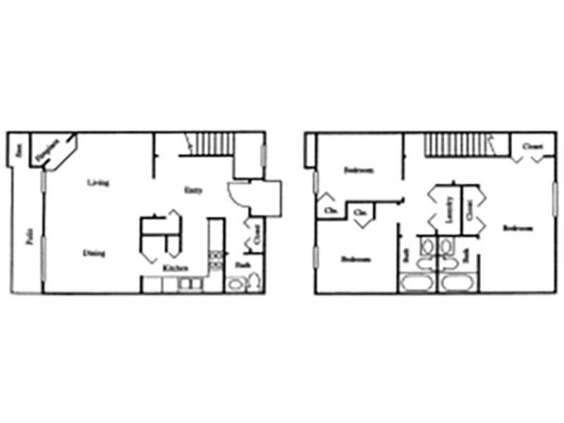 TH - 3 Bedroom / 2.5 Bath