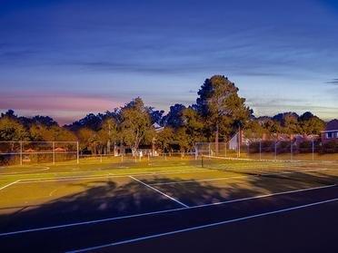 Tennis Court | Park at Moss Creek