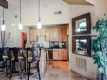 Club kitchen | Colony Woods Apartments