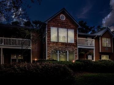 Exterior Night | Colony Woods Apartments