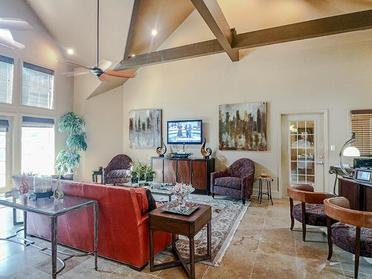 Club House Interior | Colony Woods Apartments